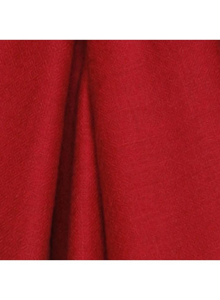 Tango Red Cashmere Pashmina Muffler