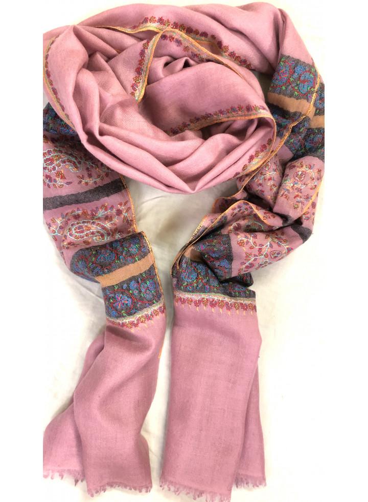 Pashmina Dawn Pink Stripes Palla Stole