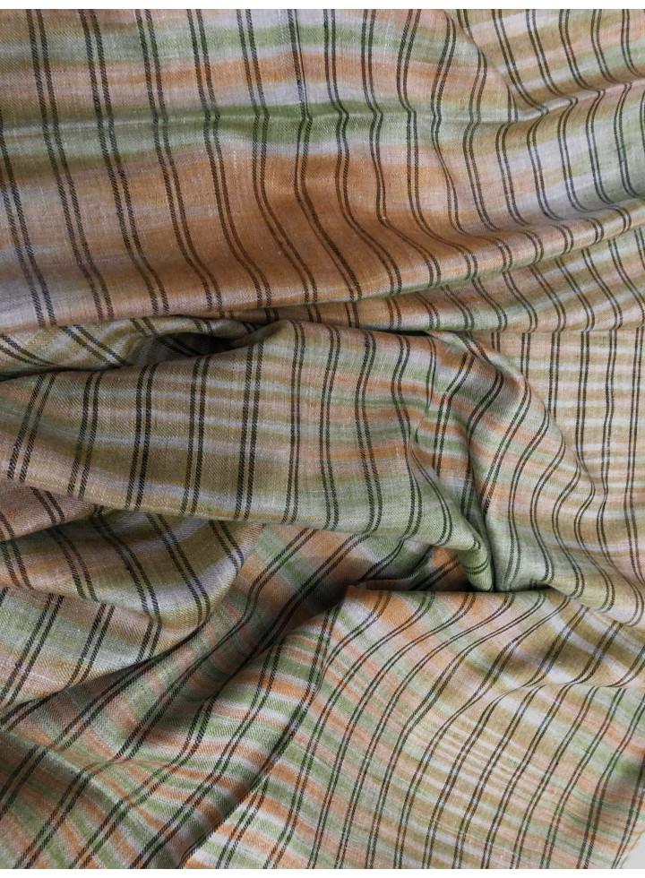 Serpentine Stripes Real Cashmere Pashmina Stole