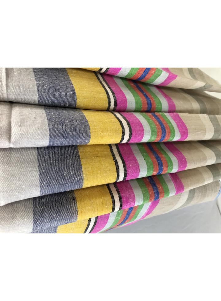 Roman Stripes Handmade Real Cashmere Pashmina Stole