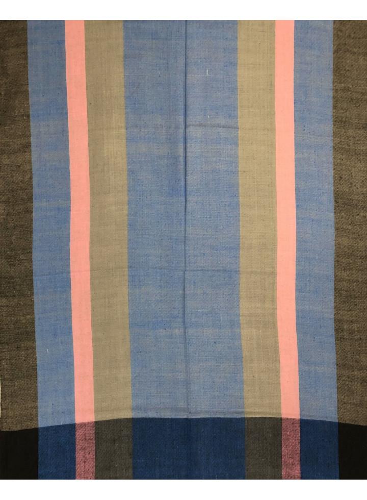 Chevron Stripes Handmade Real Cashmere Pashmina Stole