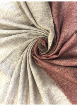 Rose Smoke And Spiced Apple Reversible Pashmina Shawl