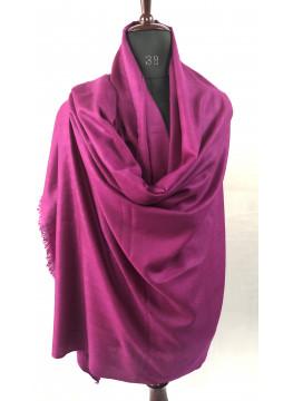 Hot Pink Handwoven Cashmere Pashmina Shawl