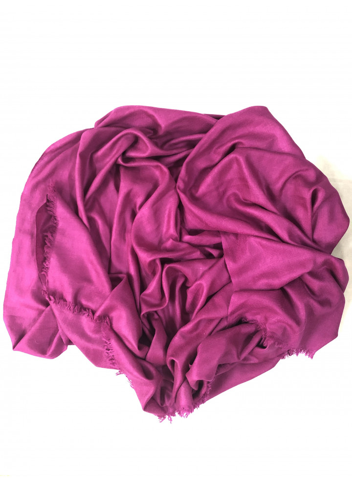 Shocking Pink Innocent Cashmere Pashmina Stole