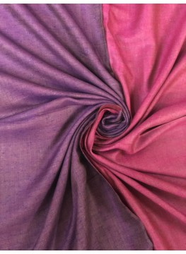 Play of Purples Reversible Pashmina Shawl