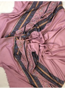 Pashmina Dawn Pink Stripes Palla Stole