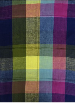 Pashmina Multi-Colour Checkered Stole